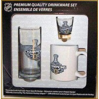 * Boston Bruins Champion 2011 * 3 Piece Fan-Set