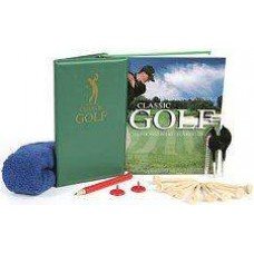 Classic Golf set with book