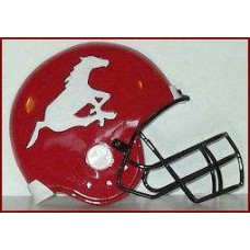 Calgary Stampeders Small Helmet Plaque