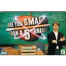 Boardgame: Are You Smarter Than a 5th Grader?