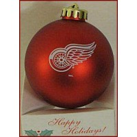 Detroit Red Wings Xmas Tree Ball