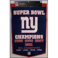 New York Giants Dynasty Wool Banner