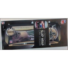 New Orleans Saints Slap Wrap Can Cooler