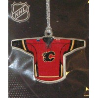 Calgary Flames Pewter Jersey Ornament