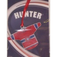Montreal Canadiens Pewter Jersey Ornament