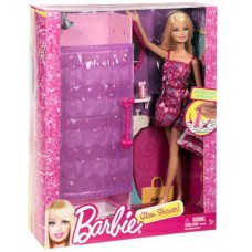 Barbie Doll with Glam Shower Playset