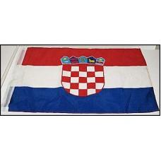 Croatia Soccer Flag