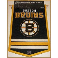 Boston Bruins Traditions Wool Banner