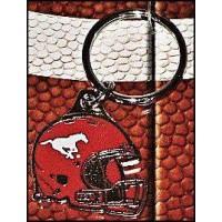 Calgary Stampeders Helmet Key Chain