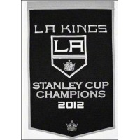 LA Kings 2012 Champion Dynasty Wool Banner