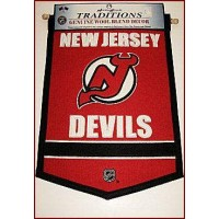 New Jersey Devils Traditions Wool Banner