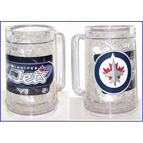 Winnipeg Jets Clear Freezer Mug