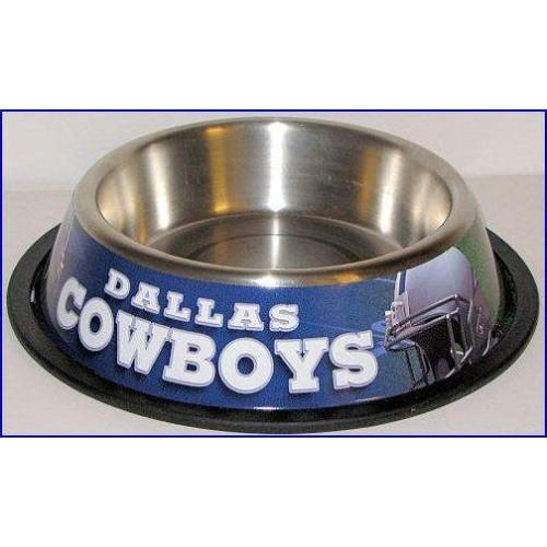 Dallas Cowboys Dog Bowl