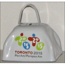 Pan Am Games Cowbell with Primary Logo