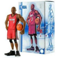 All Star Vinyl Figure Dwayne Wade (Red Away Jersey)