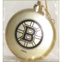 Boston Bruins Disk Shatterproof Tree Ornament