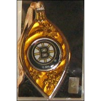 Boston Bruins Sparkle Ornament